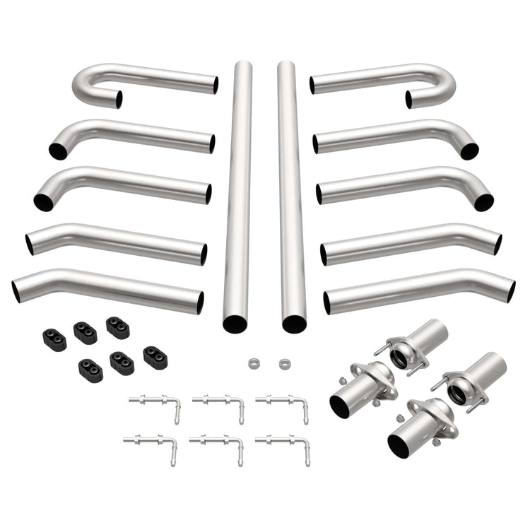 MagnaFlow Custom Builder Kit Stainless Steel Performance Exhaust System