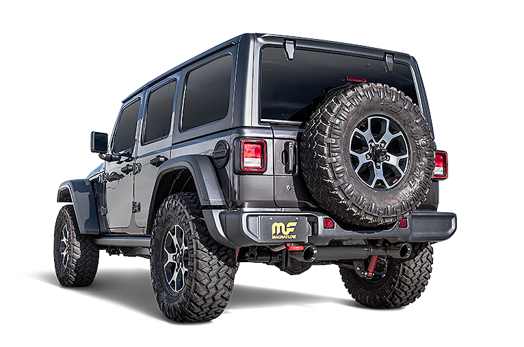 Jeep Wrangler Exhaust Systems
