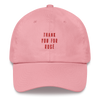 Thank you for Rosé Cap