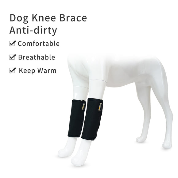 Dog Knee Brace Leg Support Wrap Protector Compression Wrap Injuries Sprains Pet