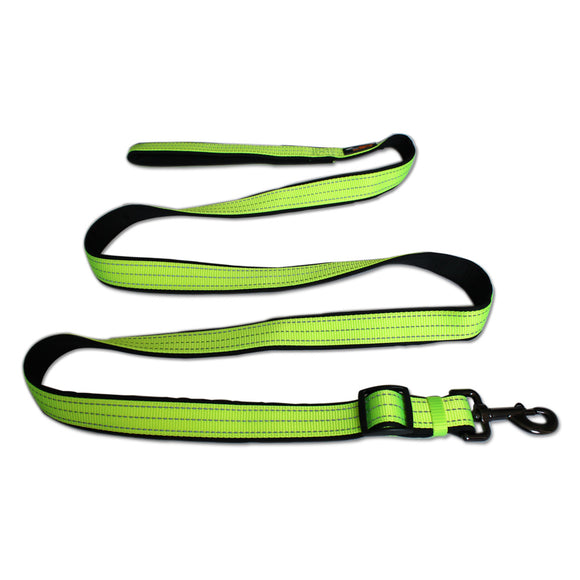Extra Strong Nylon Dog Leash Adjustable 200CM Reflective Durable Pet Leads