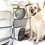 Pet Front Seat Net Barrier  for Cars SUVs Trucks