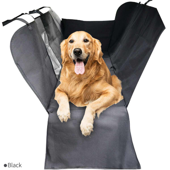 Car seat cover with viewing window
