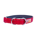 Dog Collar Lead Set Short Leash Traffic Leads with Handle Training Reflective