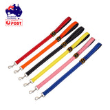 90cm Short Dog Leash Lead with Handle Training Outdoor Safety Reflective Pet