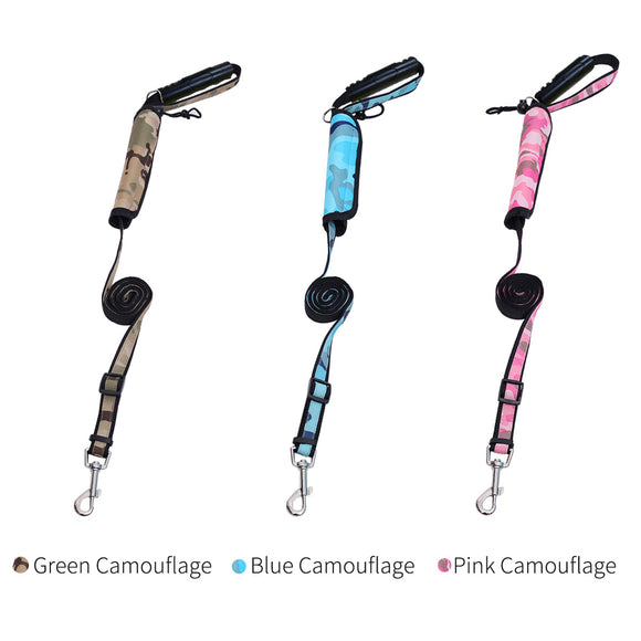 Camouflage Dog Harness Leash No Pull Heavy Duty Walking Training Pet Military