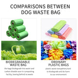 100% Biodegradable Dog Poop Bags Leak Proof Pet Cat Poo Pick Up Bag Bulk Pack