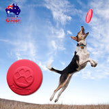 Durable Dog Flying Fetch Toys Disc Outdoor Playing Training Pet Puppy