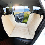 Pet car seat cover for the trunk of SUV or back seats