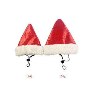 Pet Dog Cat Christmas Hat Santa Claus Hats Headwear Xmas Party Costume Ornament