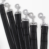 Dog Harness Leash Set Pet Vest Leads Strong Nylon Harness Rhinestone Studded S-L