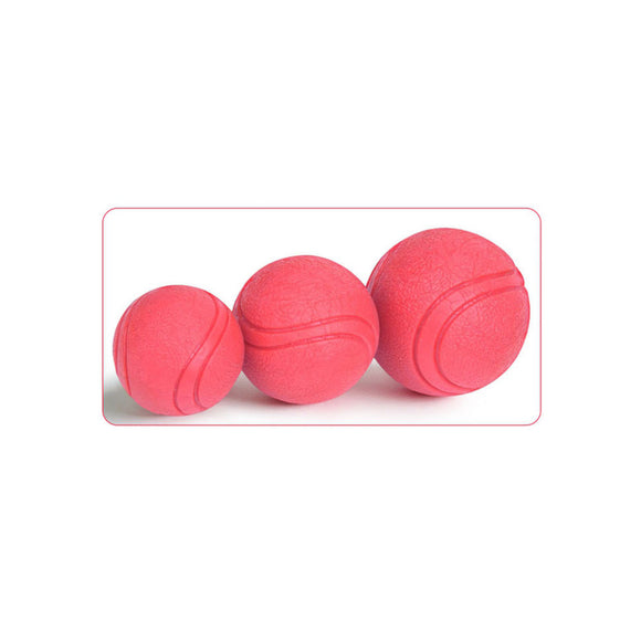 Pet Dog Toys Ball Toys Set Gift Puppy Chew Toys Soft Rubber Bouncy Ball 3 Sizes