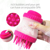 Pet Grooming Comb Brush Set Dog Bath Massage Groomers Shampoo Brushes Shower