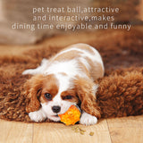 Pet IQ Treat Ball Interactive Food Dispenser Dog Toy Non-Toxic Training Playing Chewing