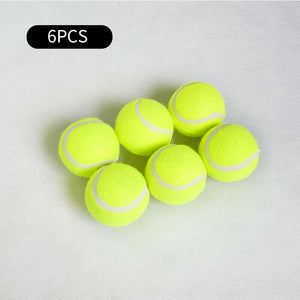 6/9/12 Pcs Dog Tennis Ball Interactive Fetch Chew Toys Pet Puppy Dogs Playing