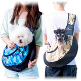 Small Dog Cat Sling Carrier Bag Travel Tote Soft Comfortable Shoulder Carry