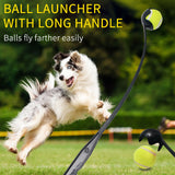3 Pcs Dog Tennis Ball Launcher Thrower Pet Interactive Toys Easy Grabber Random