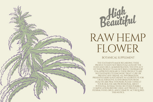Raw Hemp Flower