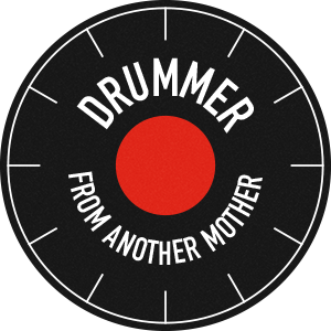 Drummer From Another Mother FREE logo