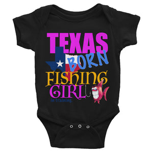 Texas Born Fishing Girl In Training