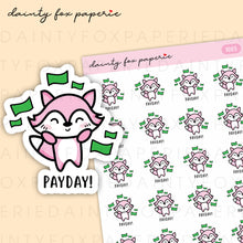 Load image into Gallery viewer, Payday Fifi Stickers | F005