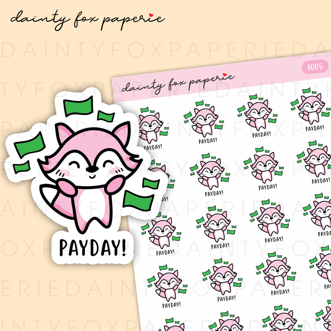Payday Fifi Stickers | F005