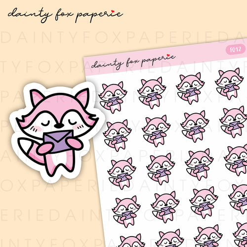 Happy Mail Fifi Stickers | F012