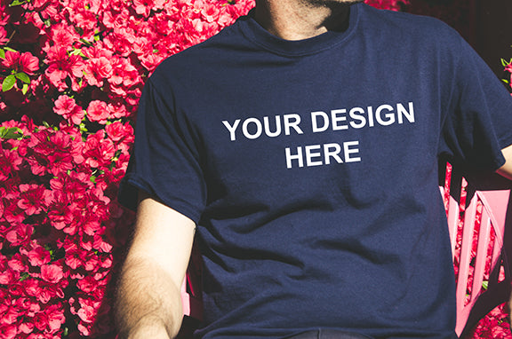 Professional Custom T Shirts ready to put any design you want on your shirt.