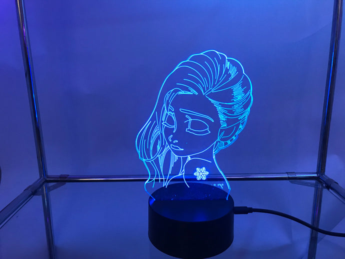 Frozen 3D Lights