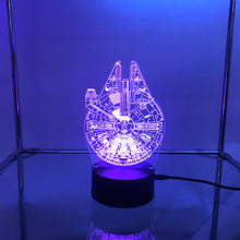 Load image into Gallery viewer, Star Wars 3D Lights