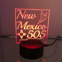 Load image into Gallery viewer, New Mexico 505 3D Light
