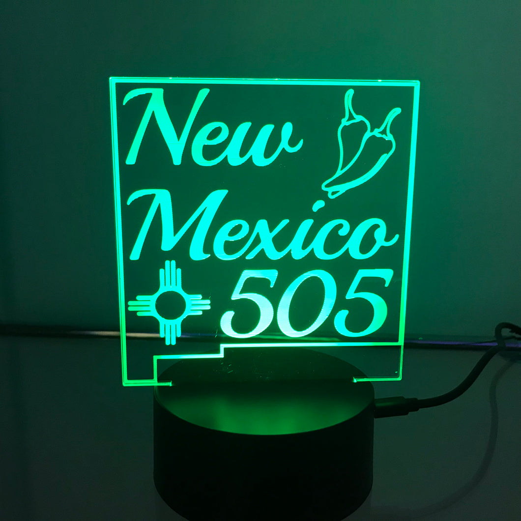 New Mexico 505 3D Light
