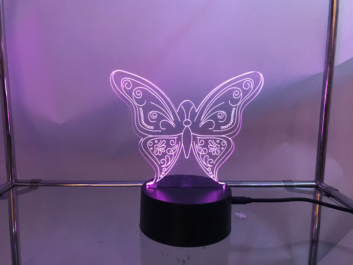 Butterfly 3D Light