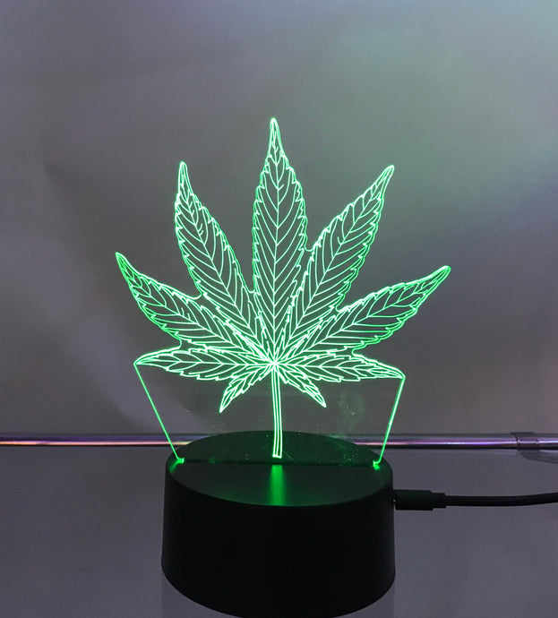 Bud Leaf 3D Light