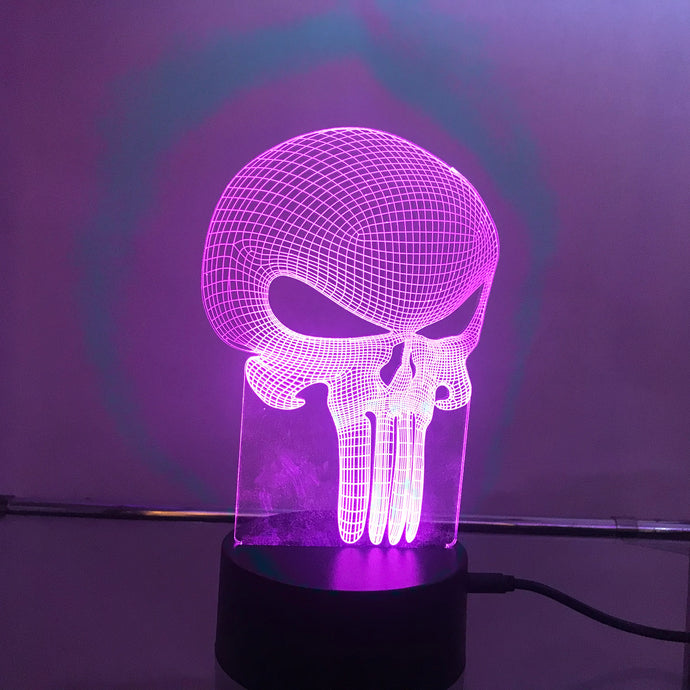 Punisher 3D Light