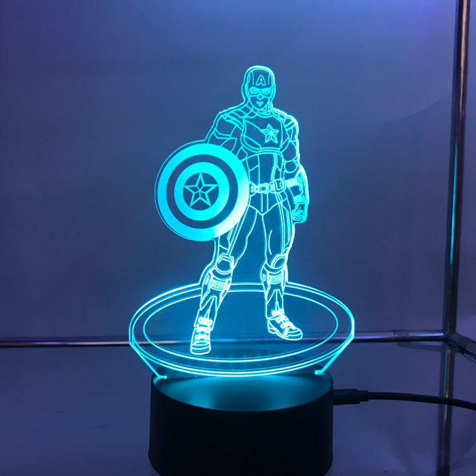 Marvel 3D Lights
