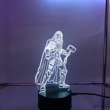 Load image into Gallery viewer, Marvel 3D Lights