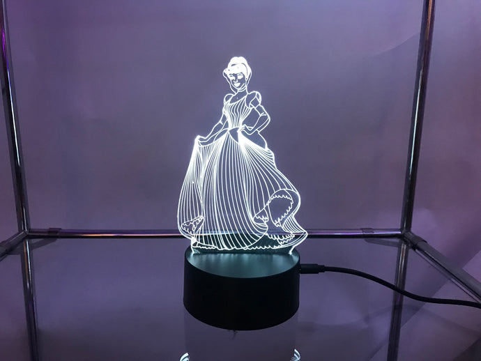 Cinderella 3D light