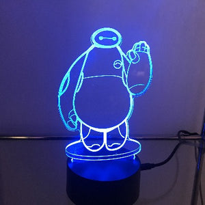 Hero 6 3D Light