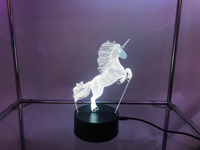 Unicorn 3D Light