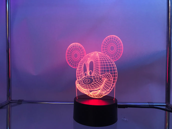 Mickey Mouse 3D Lights