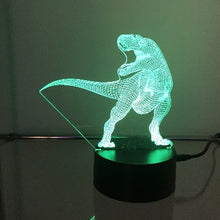 Load image into Gallery viewer, T-Rex Dinosaur 3D Lights