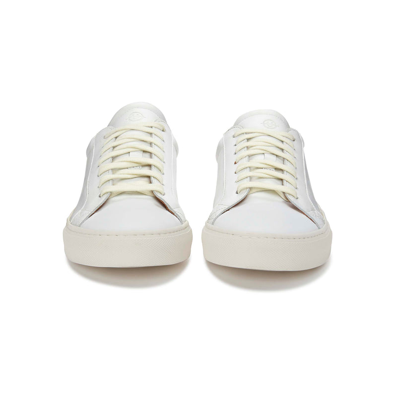 Helier Leather White