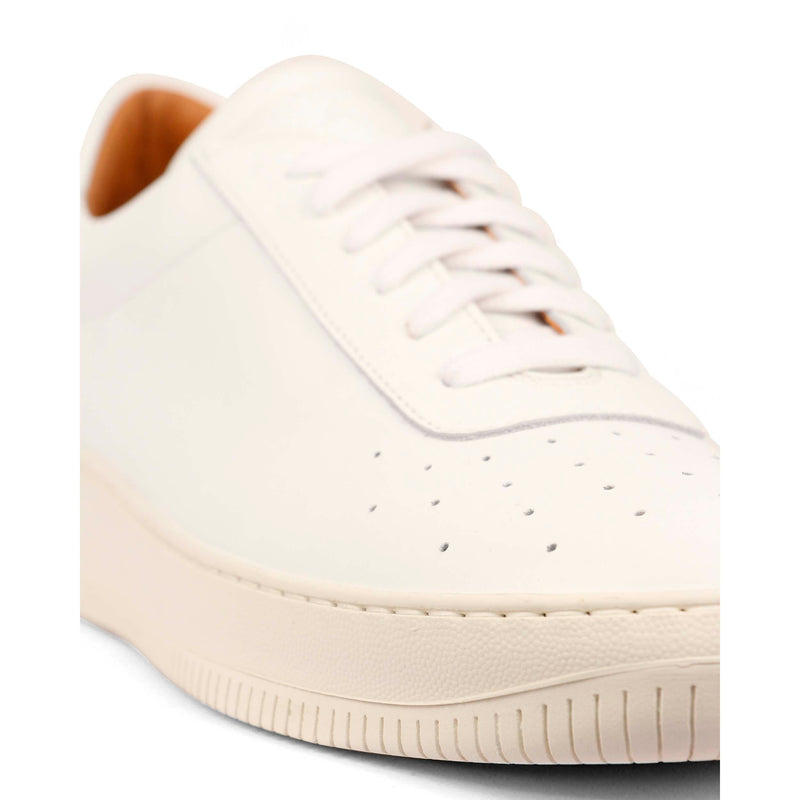 Clement Leather White