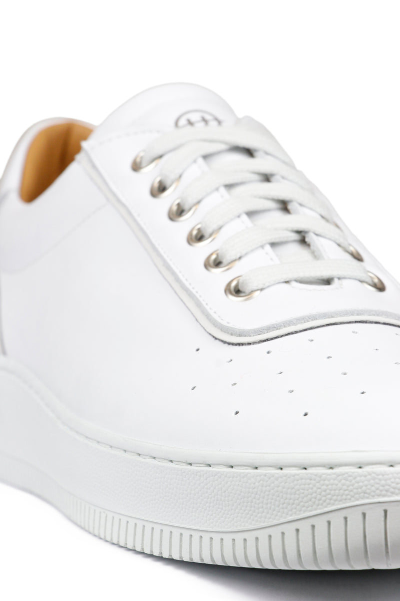 Clement Leather Tonal White