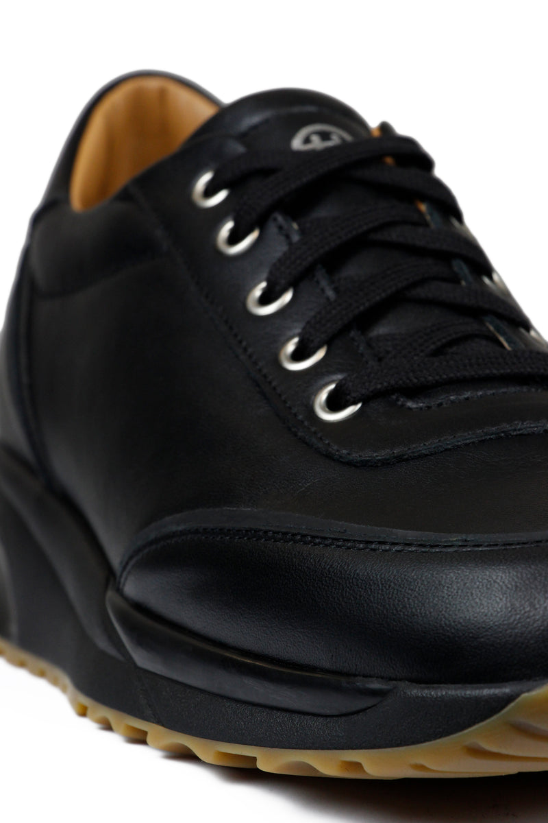 Trinity Leather Tonal Black