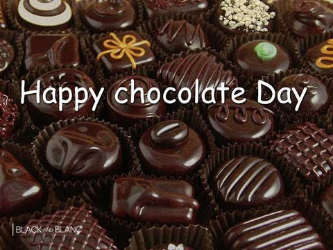 Happy chocolate day, chocolate lover, chocolate gift, chocolate & roses online delivery