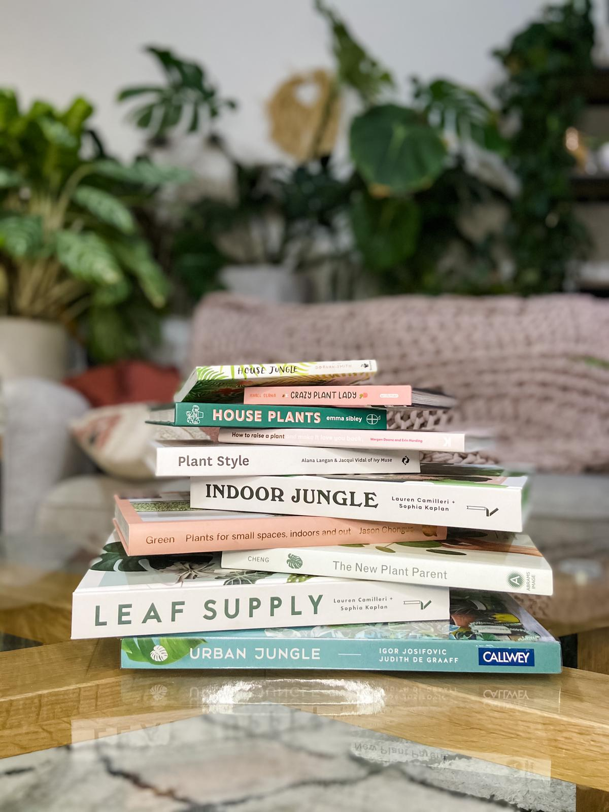 Ten of my Favourite Plant Books