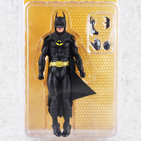 NECA 1989 Batman Michael Keaton 25th Anniversary PVC Action Figure Toy