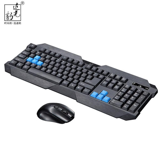 2016 New  Design Gaming  Mouse Wireless 2.4G keyboard and Mouse Set to computer Multimedia Gamer